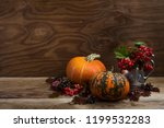Thanksgiving Rustic Decor With...