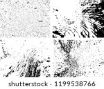 grunge black and white distress ... | Shutterstock .eps vector #1199538766