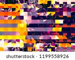 multicolored abstract... | Shutterstock . vector #1199558926