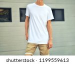 urban template  of  clothes.... | Shutterstock . vector #1199559613