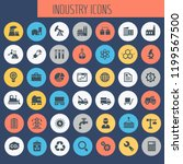 big industry icon set  trendy... | Shutterstock .eps vector #1199567500