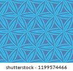 simple modern seamless... | Shutterstock .eps vector #1199574466