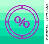 sign  percent symbol discount... | Shutterstock .eps vector #1199589226