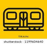 train icon signs