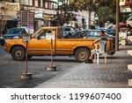 batroun  lebanon   october 2018 ... | Shutterstock . vector #1199607400