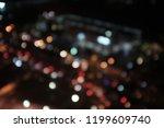 light night at city bokeh blur... | Shutterstock . vector #1199609740