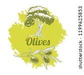 olive oil label design  olive...   Shutterstock .eps vector #1199625853