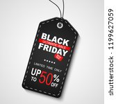 black friday sale. illustration | Shutterstock . vector #1199627059