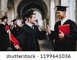 classmates. guys. mantle....   Shutterstock . vector #1199641036