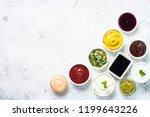 set of sauces   ketchup ... | Shutterstock . vector #1199643226