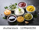 set of sauces   ketchup ... | Shutterstock . vector #1199643250
