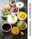 set of sauces   ketchup ... | Shutterstock . vector #1199643256