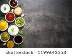 set of sauces   ketchup ... | Shutterstock . vector #1199643553