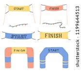 vector illustration of start... | Shutterstock .eps vector #1199644513