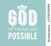 biblical phrase from bible ... | Shutterstock .eps vector #1199650099