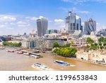 london downtown cityscape... | Shutterstock . vector #1199653843