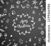 seasonal motive  small...   Shutterstock .eps vector #1199666986