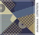 geometric abstract pattern... | Shutterstock .eps vector #1199670376