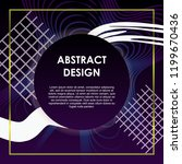 vector abstract background... | Shutterstock .eps vector #1199670436