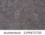 texture of a washed thick knit... | Shutterstock . vector #1199671720