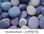 Zen Stack Of Pebbles On The...