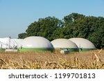 facility for bio energy... | Shutterstock . vector #1199701813