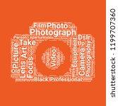 photograph camera icon   Shutterstock .eps vector #1199707360