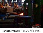 high precision hot forging... | Shutterstock . vector #1199711446