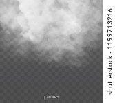 fog or smoke isolated... | Shutterstock .eps vector #1199713216