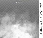 fog or smoke isolated... | Shutterstock .eps vector #1199713219