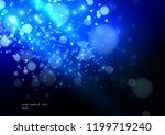 blue background. glare of light ... | Shutterstock .eps vector #1199719240