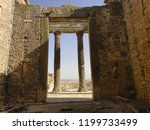facade and pediment of the main ... | Shutterstock . vector #1199733499
