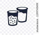 suspension transparent icon....   Shutterstock .eps vector #1199745499