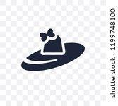 pamela transparent icon. pamela ... | Shutterstock .eps vector #1199748100