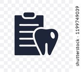 dental checkup transparent icon.... | Shutterstock .eps vector #1199749039