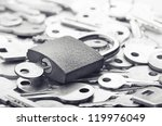 choosing the right key for... | Shutterstock . vector #119976049