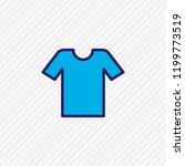 vector illustration of t shirt... | Shutterstock .eps vector #1199773519