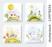 Four Seasons Icons With...