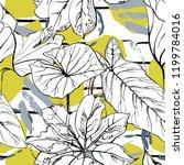 tropical  modern stripes motif. ...   Shutterstock .eps vector #1199784016