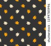 abstract vector illustration... | Shutterstock .eps vector #1199785996