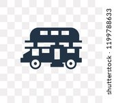 double decker bus vector icon... | Shutterstock .eps vector #1199788633