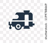 caravan vector icon isolated on ... | Shutterstock .eps vector #1199788669