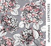 seamless floral pattern. light... | Shutterstock .eps vector #1199792593