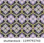 geometric arabic seamless... | Shutterstock .eps vector #1199792743
