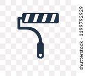 painter roller vector icon...   Shutterstock .eps vector #1199792929