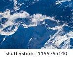 blue planet earth seen from... | Shutterstock . vector #1199795140