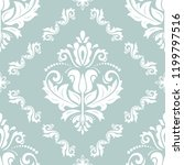 classic seamless vector pattern.... | Shutterstock .eps vector #1199797516