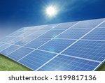 solar power generation | Shutterstock . vector #1199817136