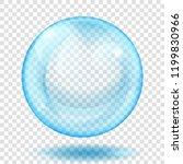 big translucent light blue...   Shutterstock .eps vector #1199830966