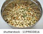 thanksgiving stuffing... | Shutterstock . vector #1199833816